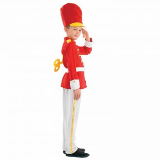 Kids Festive Toy Soldier Costume