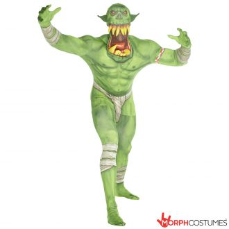 Jaw Dropper Orc Morphsuit – Groen