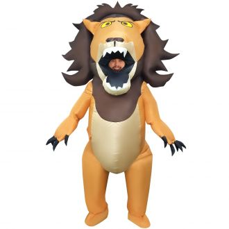 Big Mouth Lion Inflatable Costume